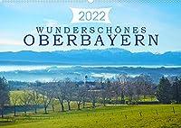Wunderschoenes Oberbayern (Wandkalender 2022 DIN A2 quer): Vielfaeltige Eindruecke der oberbayrischen Landschaft. (Monatskalender, 14 Seiten )