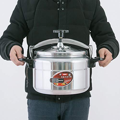 KIODS snelkookpan, 11 l, snelkookpan, inductie, voor thuis, gasfornuis, multifunctioneel, van aluminium, ontvlambaar, soeppan, stoompan