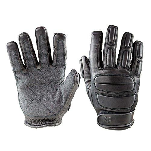 OBRAMO Schnittschutz Handschuhe SEK1 für Polizei Security Einsatz (S)