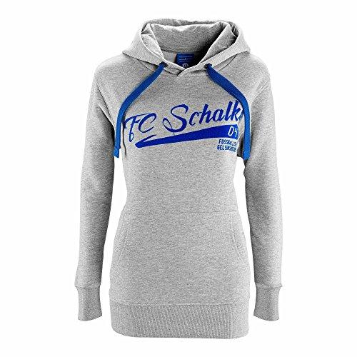 FC Schalke 04 Damen Kapuzen-Sweat -Shirt Fußball Club (S)