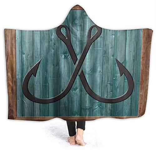 XCNGG Manta moderna abstracta con capucha para sofá, manta de franela de alta calidad, resistente al viento, manta térmica con capucha, manta con capucha para cama, sofá o coche
