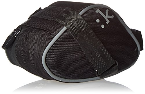 Fizik Small Saddle Bag with Velcro Straps - Anthracite