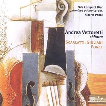 Scarlatti: Tre Sonate - Giuliani: Guitar Sonata, Op. 15 - Ponce: Guitar Sonata III
