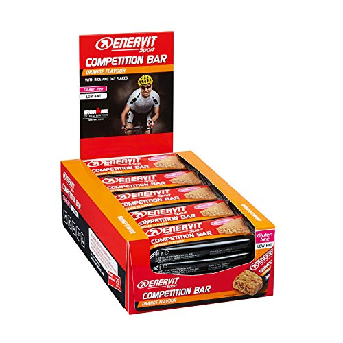 Enervit Power Sport Competition Confezione da 25 Barrette Gusto Albicocca (albicocca)