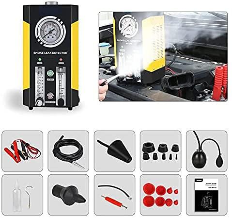 Car Smoke Machine, EVAP Smoke Leak Tester Detector, Automotive Fuel Leakage Diagnostic Tester, 2...