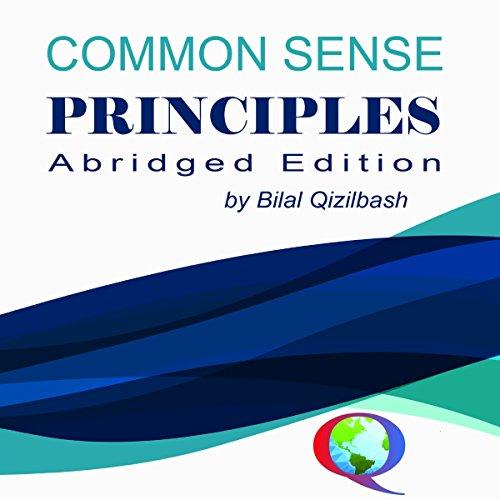 Common Sense Principles audiobook cover art