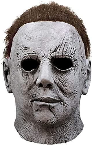Scary Halloween Face Mask Michael Myers Latex Full...
