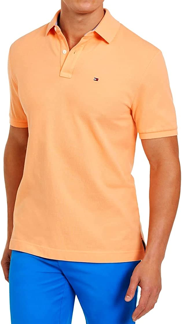 Tommy Hilfiger Men's Short Sleeve Polo Shirt in Classic-Fits