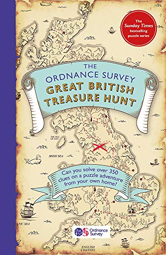 The Ordnance Survey Great British Treasure Hunt: Can you solve over 350 clues on a puzzle adventure from your own home?
