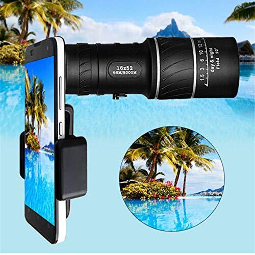 High-Definition Telescoop 16X Draagbare Zoom Lens Camera met Clip voor Iphone XS MAX Samsung Note 9 8 S9 Plus Universele Lens
