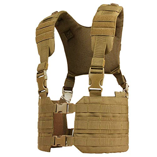 Condor MCR7 MOLLE Tactical Ronin Chest Rig Split Vest