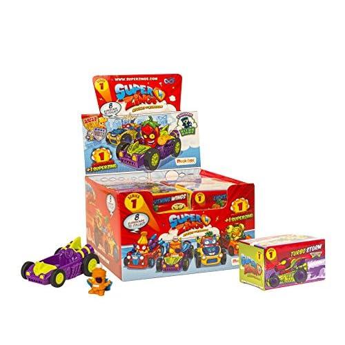 Superzings–Rivals of Kaboom Scatola di Personaggi, Magic Box INT Toys sz1p0302