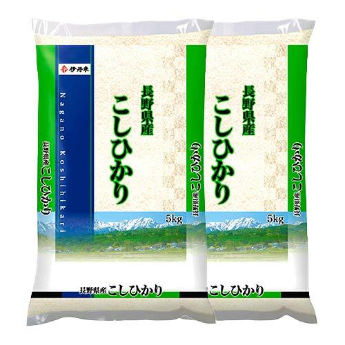 伊丹産業 長野県産こしひかり 5kg ×2袋【送料無料】【精米】