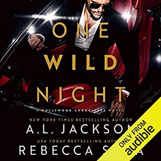 One Wild Night audiobook cover art