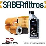 Kit tagliando auto, kit quattro filtri e 4 litri olio motore Motorcraft 5W30 (KF0021/fo)