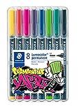 STAEDTLER 317 WP8-1 Lumocolor Permanent Art. Estuche exclusivo STAEDTLER box con...