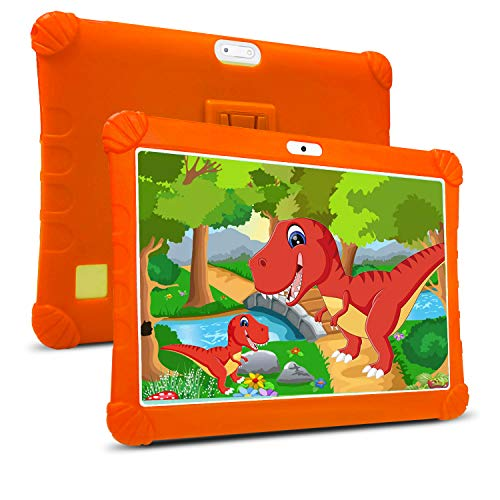 "Tablet para Niños 10 Pulgadas DUODUOGO Tablet PC 3GB RAM+ 32GB ROM, Tablet 10"" IPS FHD Pantalla Tablet para Niños Quad Core Dual Cámaras WiFi Tablet Infantil 4G"