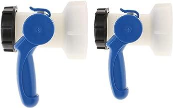 Sharplace 2pc Adaptador de Agua de Grifo V/álvula Mariposa 1000l Ibc 62mm Accesorios de Informatica