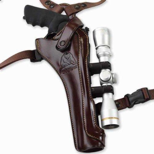 Galco Kodiak Hunter Shoulder Holster (Dark Havana Brown), 8 3/8-Inch S&W N FR .44 Model 29/629, Right Hand