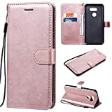 Case Compatible With LG K40s Case, Solid Color PU Leather