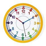 """Decowall DSHC-KG25Y 9.8"""" Time Teacher Lernen Sie die Zeit erklären"""