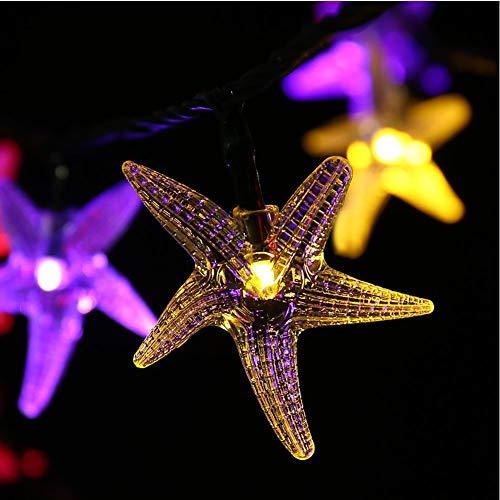 Guarduu Led-lichtsnoer, voor feestjes, Kerstmis, bar, tuin, buiten, voor patio, deur, binnenplaats, feest, bruiloft, Kerstmis, kleurrijk