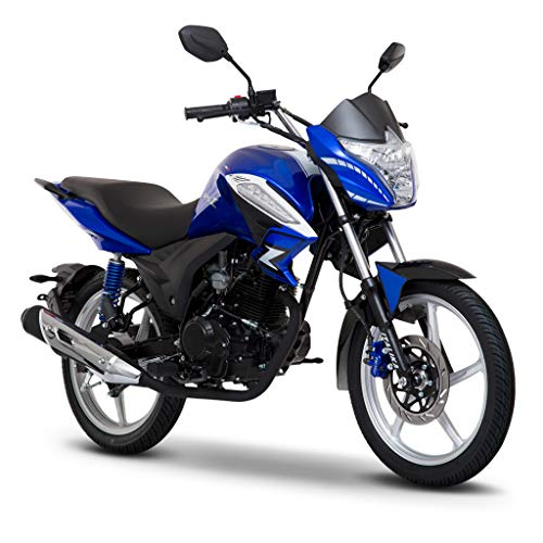 Motocicleta Italika de Linea Z- Modelo 125Z Azul Negro