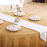 ZHB Bandiera da tavolo stile europeo Moda Tavolino da caffè in jacquard Bandiera Letto Runner Ristorante Alberghi Scrivania Bandiera Tovaglia domestica Asciugamano da tavola-O 30X180Cm (12X71Inch)