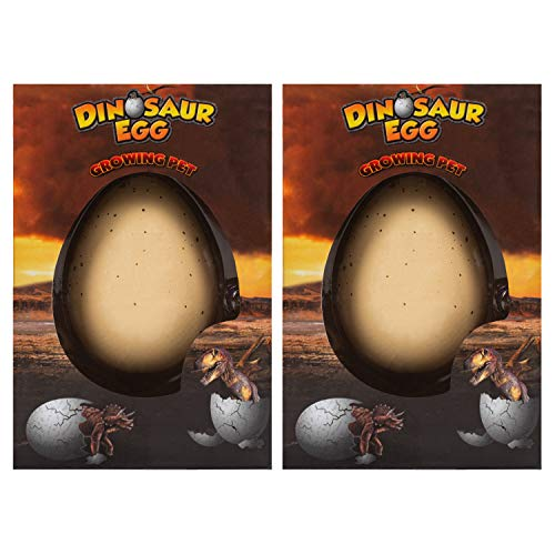 Class Collections Surprise Growing Dinosaur Hatch Egg Kids Novelty Toy- Pack of 2