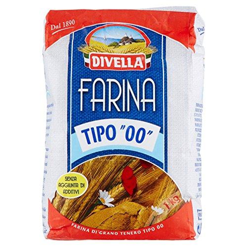 Divella Farina di Grano Tenero, Tipo 00, 1kg