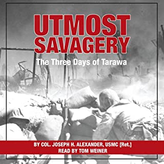 Utmost Savagery audiobook cover art