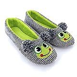 ofoot Zapatillas de Casa para Mujer Bailarina,Zapatos Lindo Animal Punto...