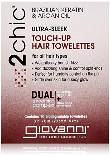 Giovanni Cosmetics 2chic Brazilian Keratin and Argan Oil Ultra Sleek Super...