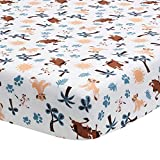 Lambs & Ivy Lion King Adventure Fitted Crib Sheet, Multicolor cool mattress Jan, 2021