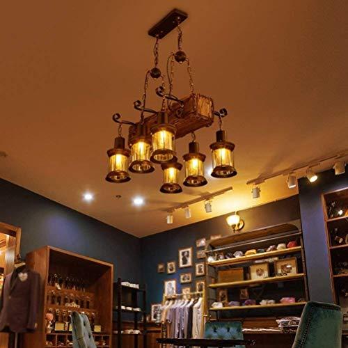 JE Gyy Home Hotel Illuminazione Lampadari Squisiti Stile Americano Rurale personalità Creativa Retro Coffee Shop Ristorante Negozio di Abbigliamento Internet Bar Bar Attrezzatura Barca Lampadario in