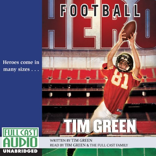 Football Hero audiobook cover art
