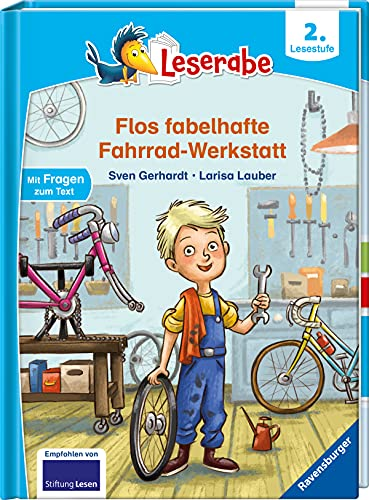 Flos fabelhafte Fahrrad-Werkstatt - Leserabe ab 2. Klasse - Erstlesebuch für Kinder ab 7 Jahren (Leserabe - 2. Lesestufe)