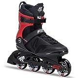 K2 Herren Inline Skates F.I.T. 80 PRO - Schwarz-Grau - EU: 36.5 (US: 5 - UK: 4) - 30D0771.1.1.050