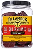 Tillamook Country Smoker Tillamook Real Hardwood Smoked Old Fashioned Silver Dollar Beef Jerky 13oz Resealable Jar