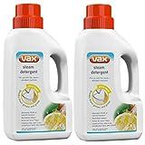 2 x Vax Steam Detergent 500ml 1-9-131627-00 (Genuine)
