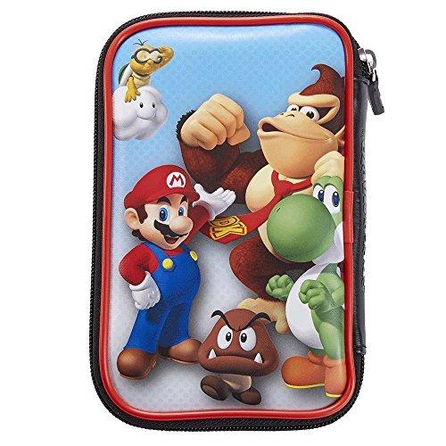 Tasche/Hülle | 4 Motive zur Auswahl | Kompatibel mit Offiziellen Nintendo New 3DS und 2DS XL / 3DS XL ; Motiv: Mario und Donkey Kong