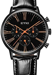 EYKI Dress Watch For Men Analog Leather - E1081L