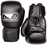 Bad Boy Thai II - Guantes de Boxeo para Hombre (14 oz), Color Negro