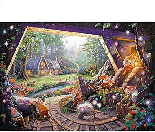 IILSZMT Puzzle 1000 Teile Klassische Puzzle Erwachsene Dekompression Spiele Puzzle DIY Kit Holzspielzeug Einzigartiges Geschenk Moderne Wohnkultur 75X50Cm Zwergtiere