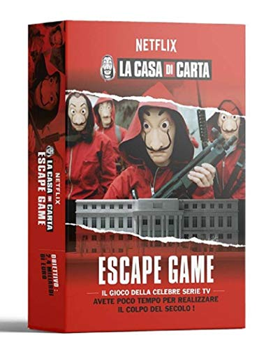 Ms Edizioni Iva Assolta-La Casa di Carta-Escape Game, 9788831382021
