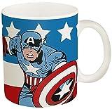 Zak Designs Marvel Comics Captain America Coffee Cup, 11 oz