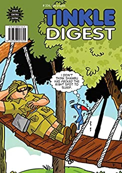 Tinkle Digest No. 336 by [Thindiath, Rajani]