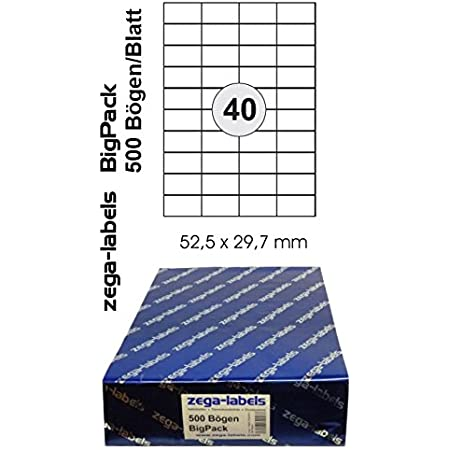 wei/ß Kores L7042.25 Universal-Etiketten 70 x 42,3 mm 25 Blatt