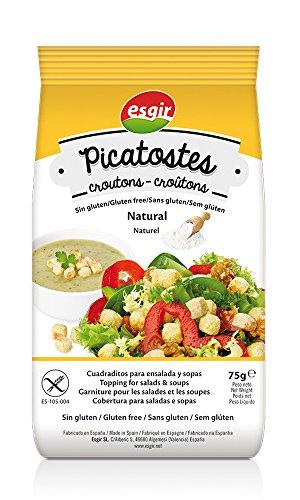 Esgir Picatostes Sin Gluten Sabor Natural   75 gr