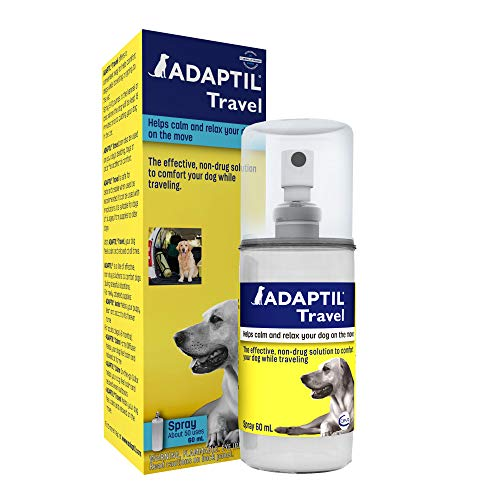 Adaptil Calming Spray for Dogs (60 ML), Vet Recommended to Calm During Travel, Vet Visits, Boarding & More